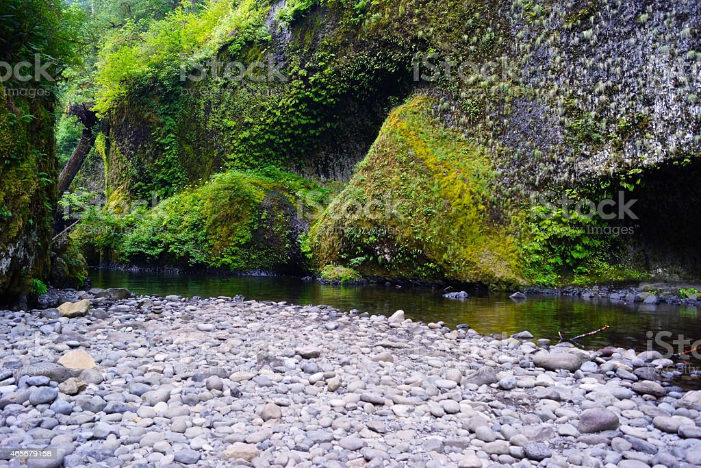 Eagle Creek Sublime stock photo