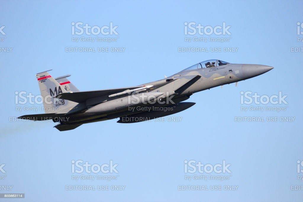 優雅 F 15 Jet Engine - ラカモナガ