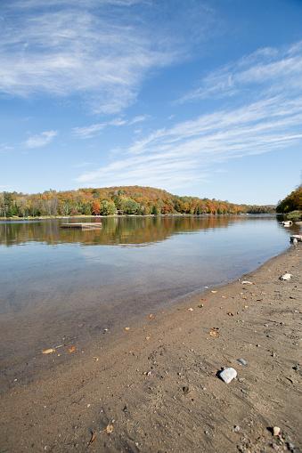 Eagle lake just outside of Halliburton,Ontario