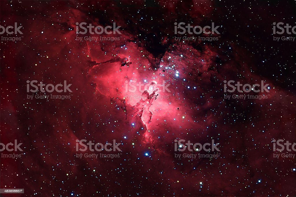Eagle Nebula stock photo