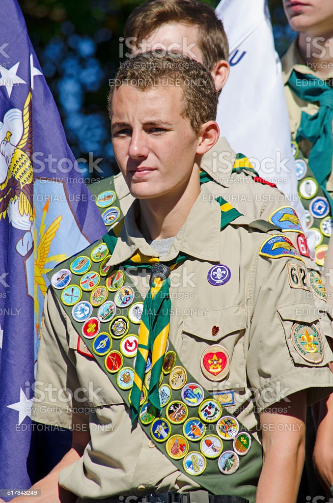 Eagle Scout - foto de stock
