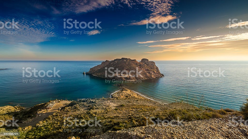 Aguilas stock photo