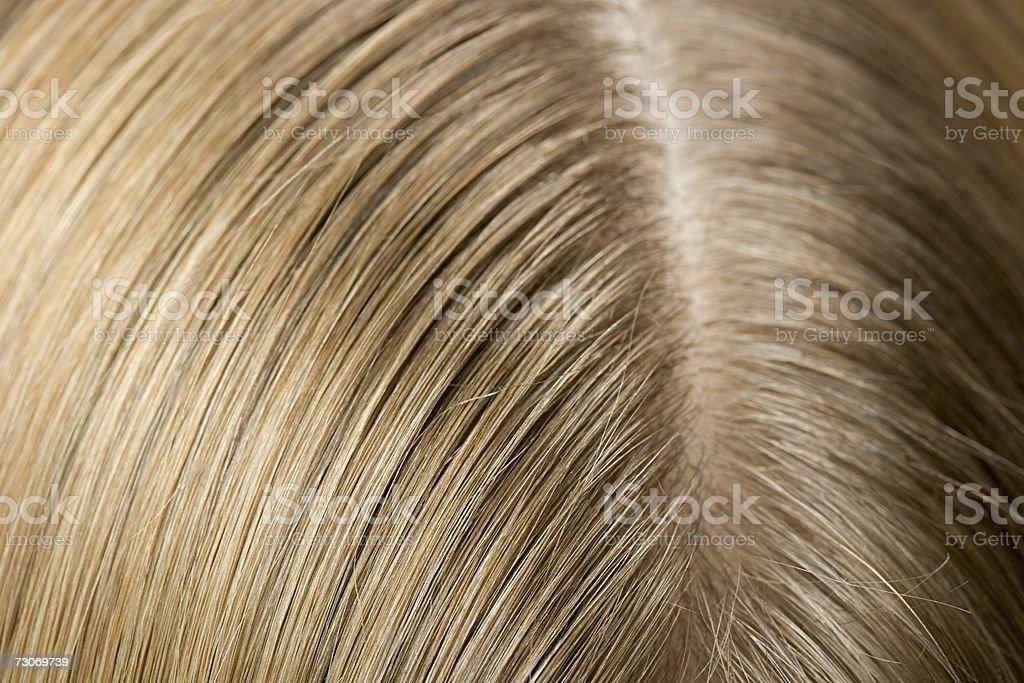 Ohr und Haar einer Frau – Foto