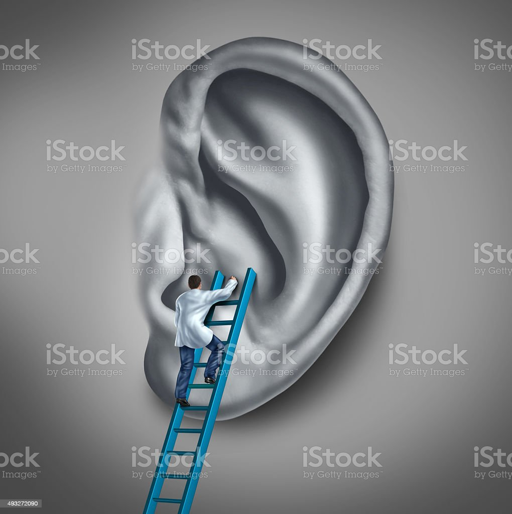 Ear Medicine stock photo