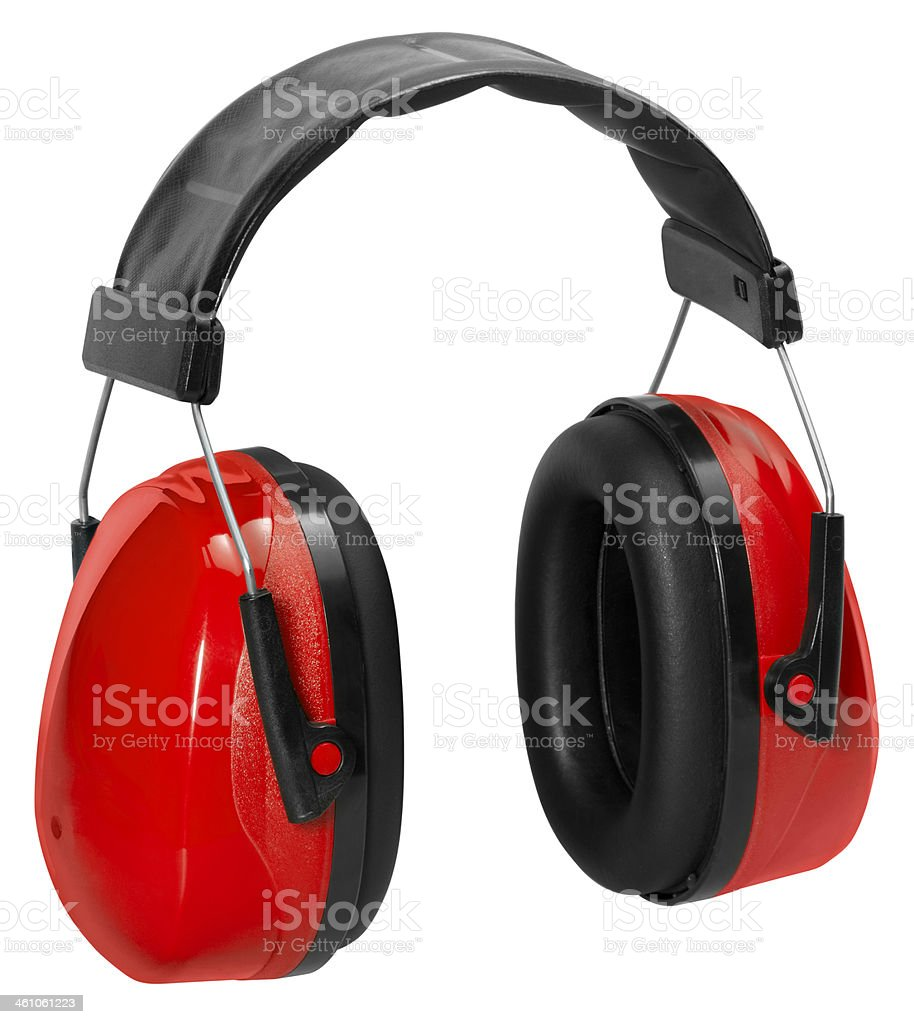 ear protection stock photo