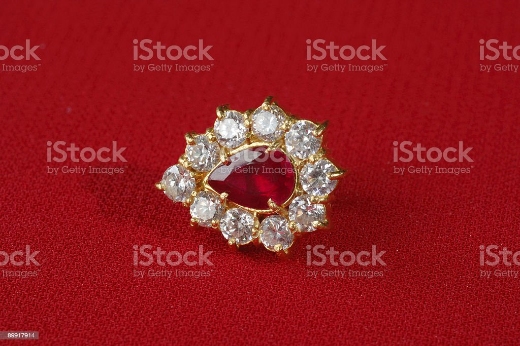 Ear ring royalty-free stock photo