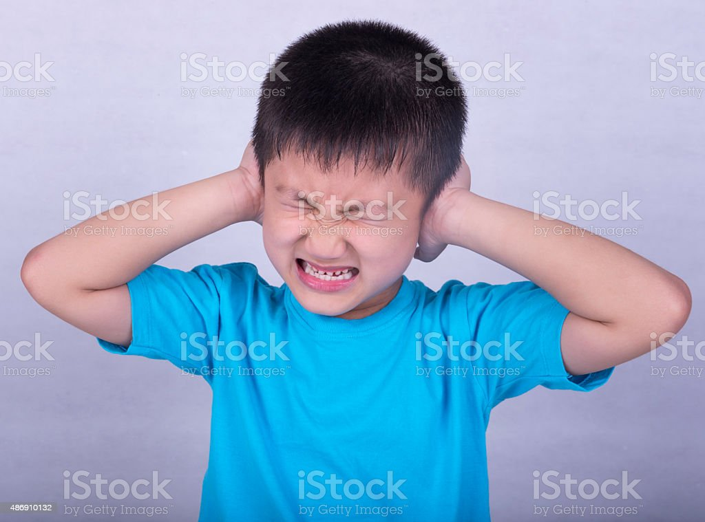 earache stock photo