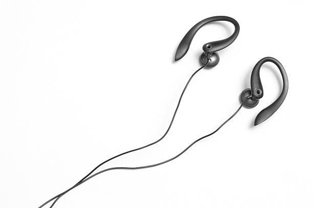 écouteurs - écouteurs intra auriculaires photos et images de collection