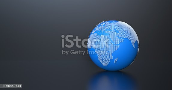 Earht world map