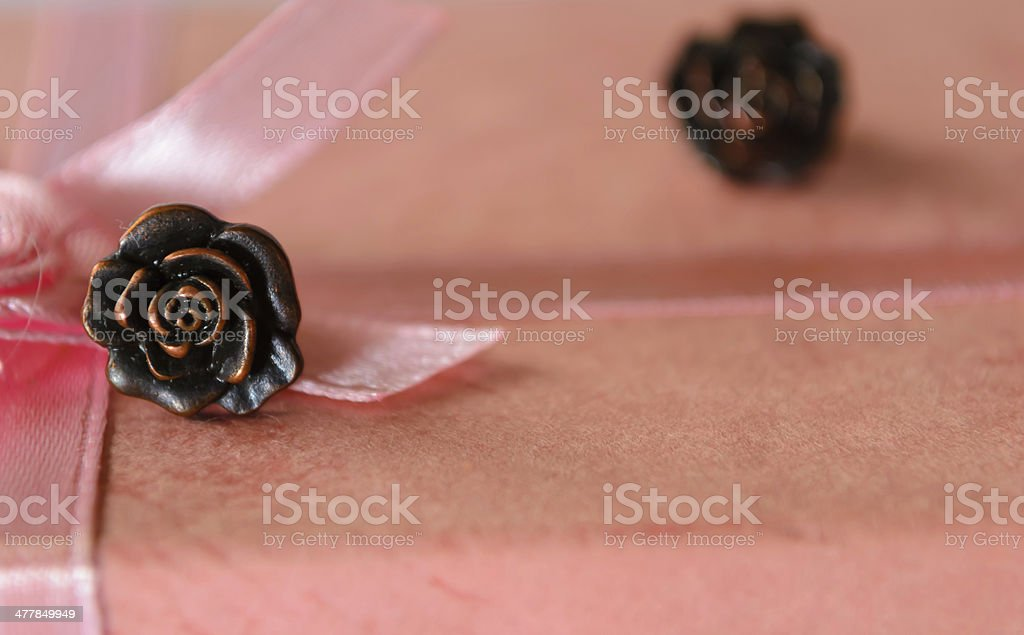 Earing on the box. royalty-free stock photo