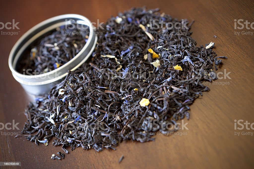 Earl Grey Black Tea royalty-free stock photo