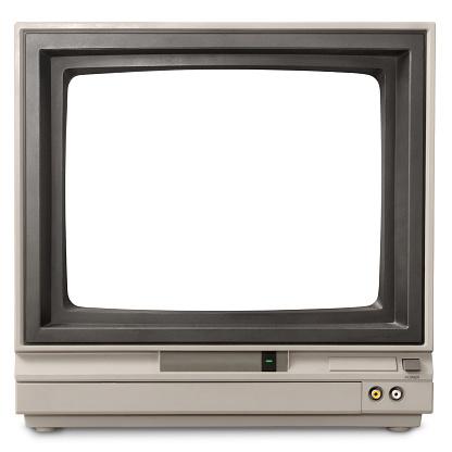 Vintage computer screen.