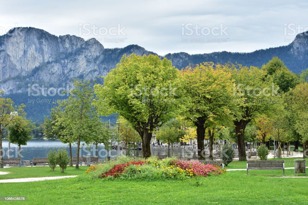 Anfang Herbst am Attersee – Foto