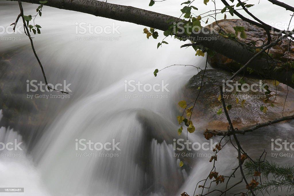 Early Autumn Creek stock photo