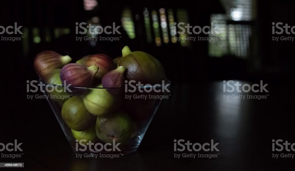 Early Autumn Figs royalty-free stock photo