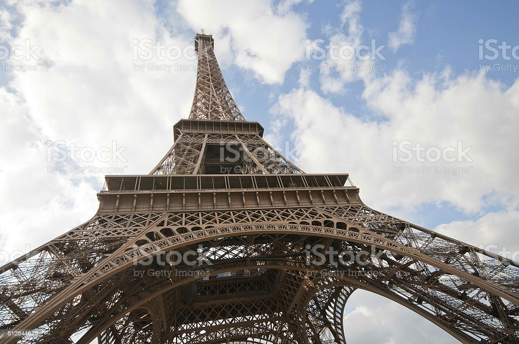 Early autumn in Paris stock photo