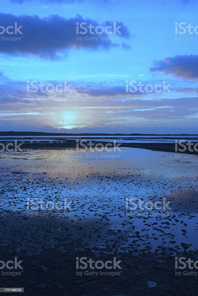 Early Blue Morning stock photo