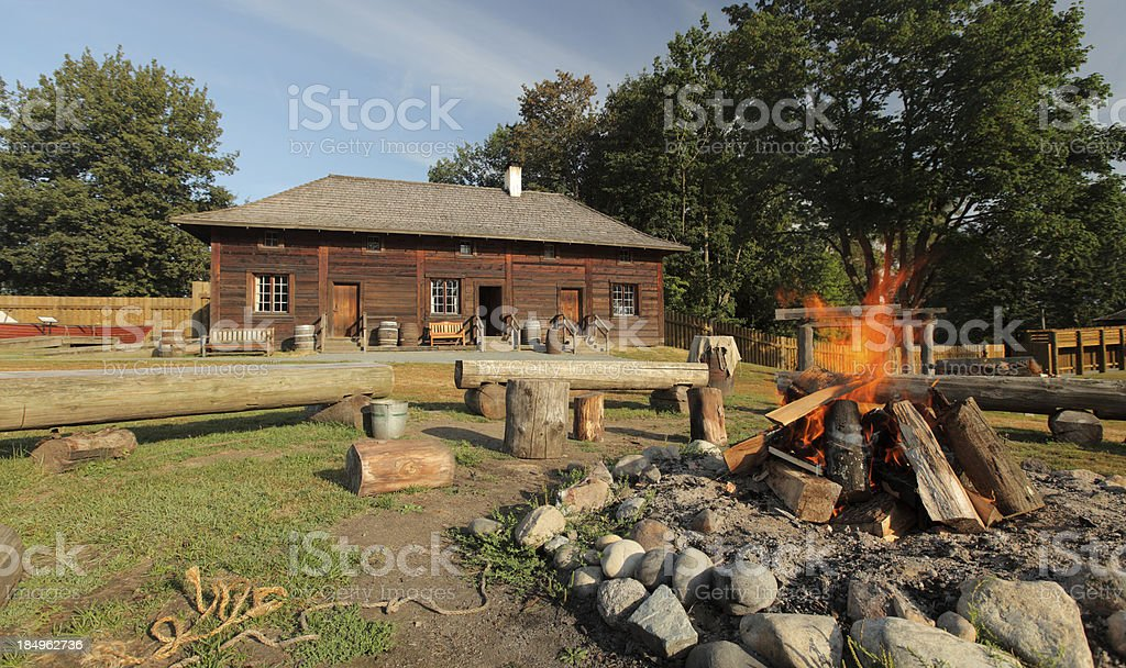 Early Canadian Architecture royalty-free stock photo