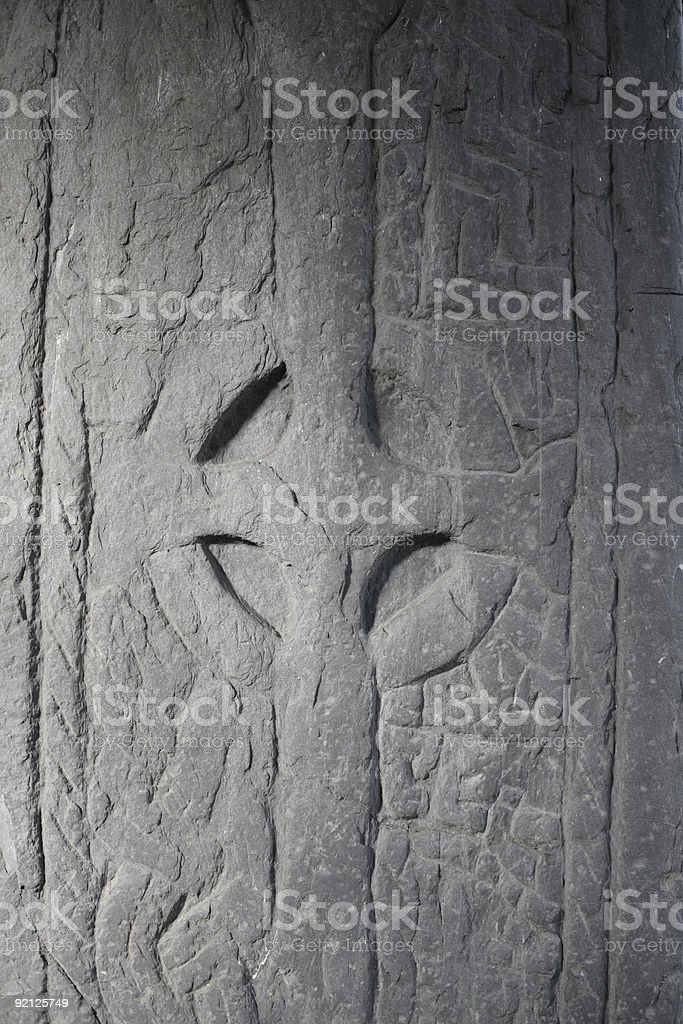 early Christian cross - religious symbolism