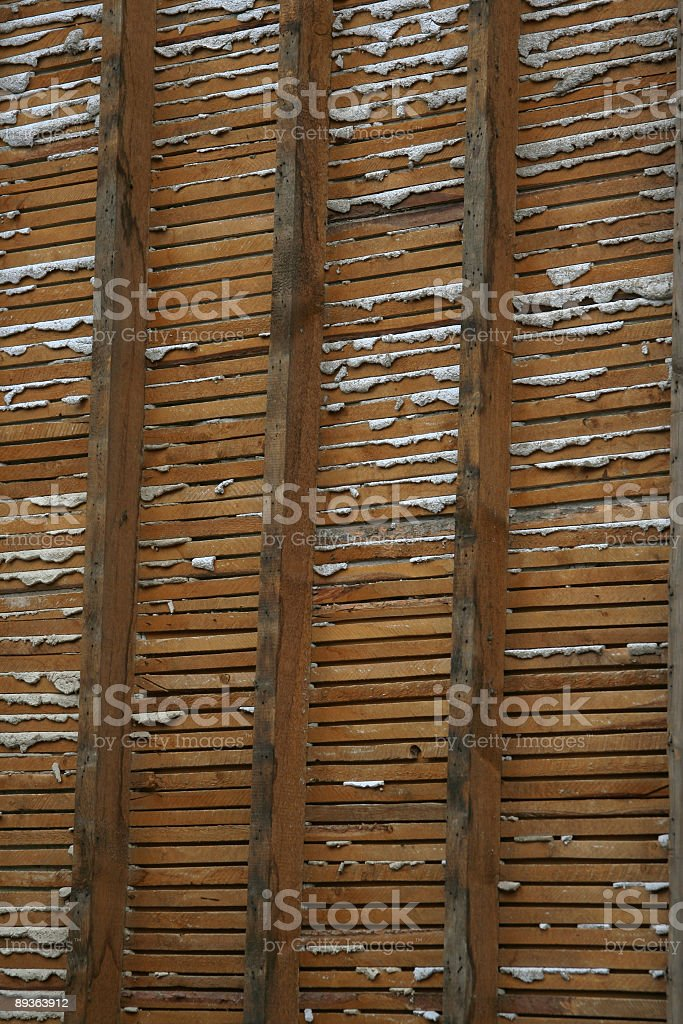 Early Construction Methods royalty-free stock photo