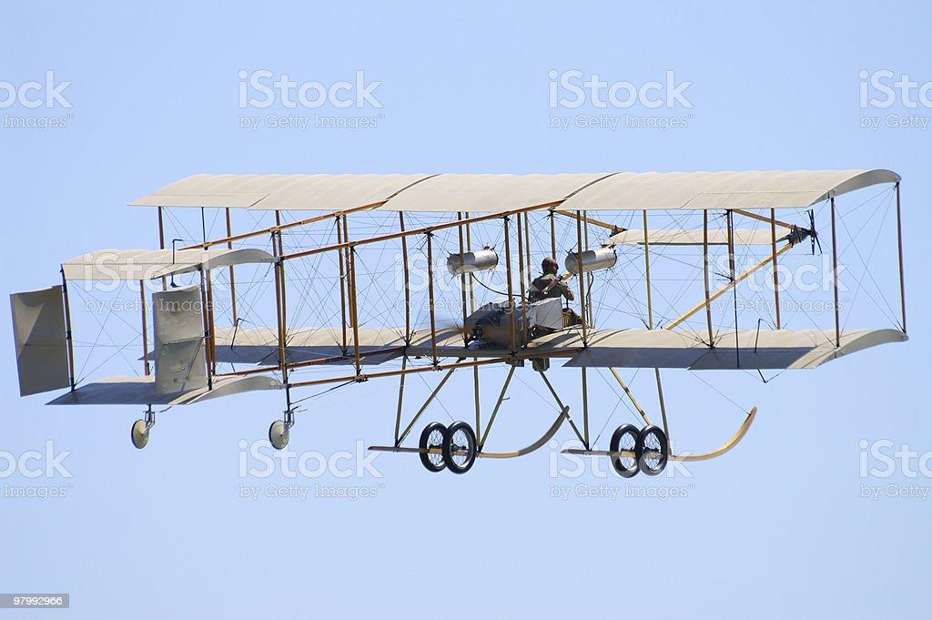 Early flight royalty free stockfoto
