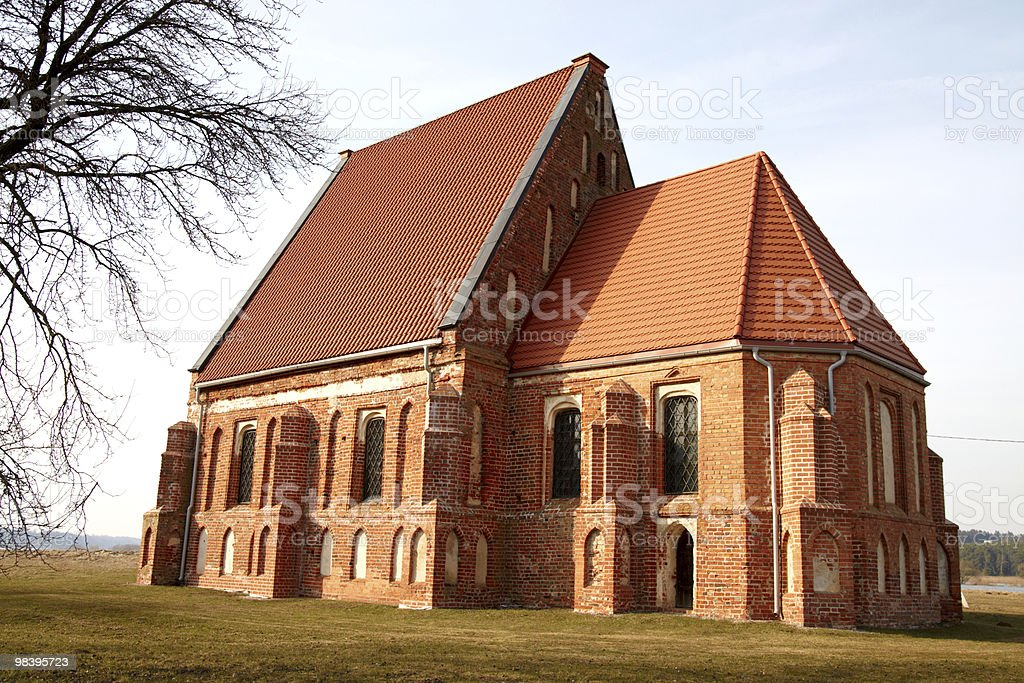 Prima chiesa gotica foto stock royalty-free