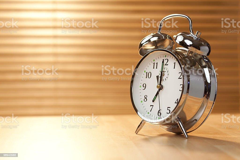 Early Morning Alarm Clock royalty-free stock photo