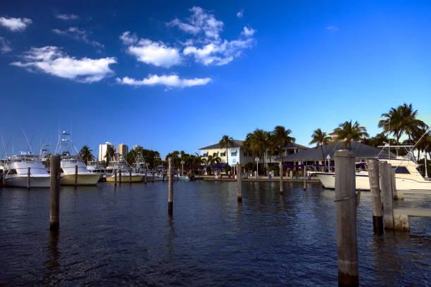 Early Morning at Marina near Riviera Beach, Florida