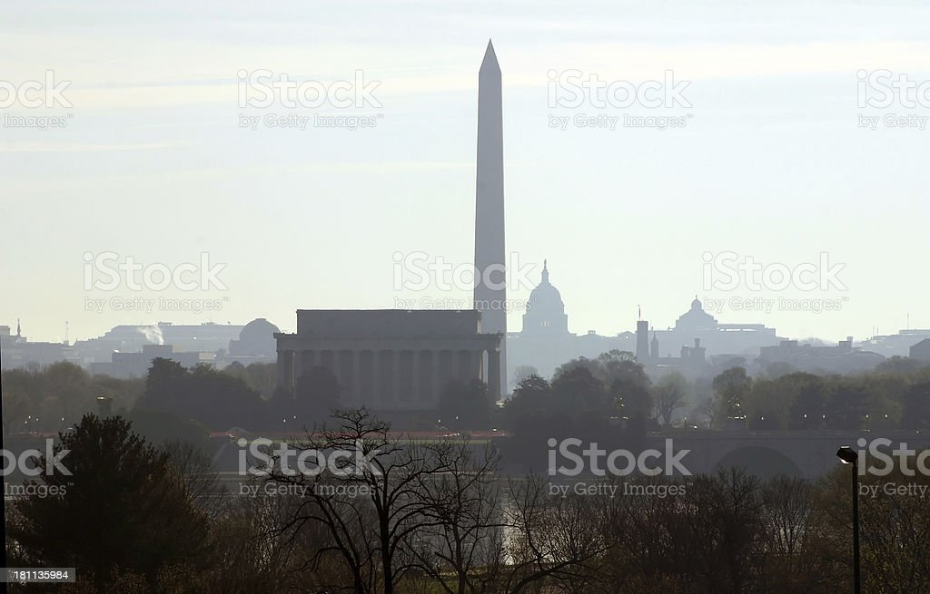Early Morning DC stock photo