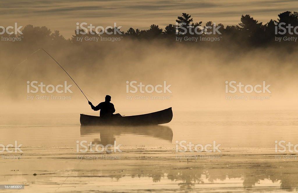 Frühen Morgen Fisherman – Foto
