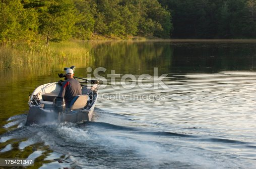 175421347 istock photo Early Morning Fishing Trip 175421347