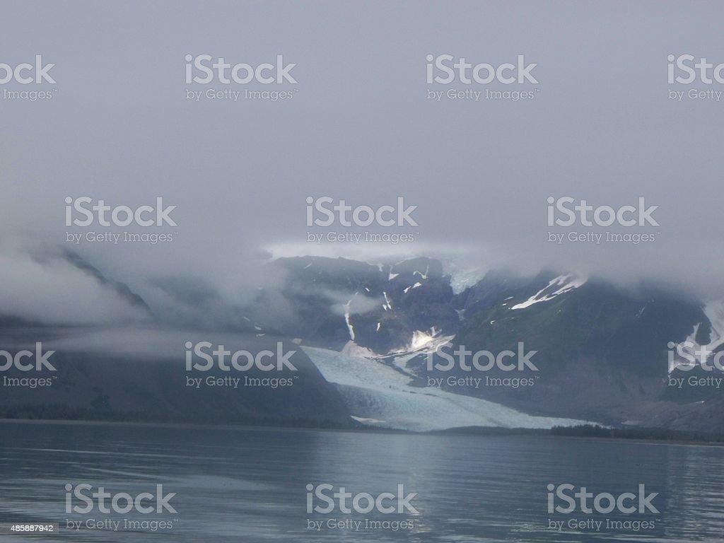 Early Morning Glacier stock photo