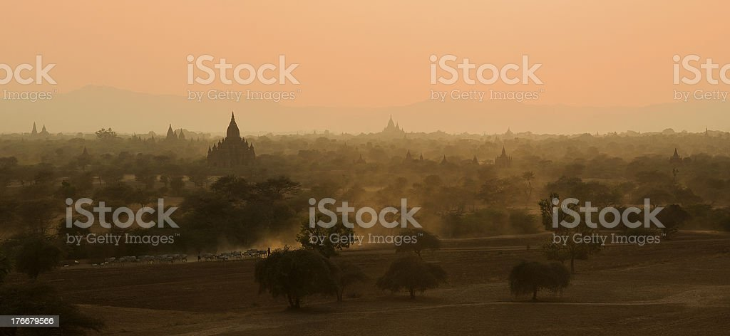 Early Morning in Bagan royalty-free stock photo