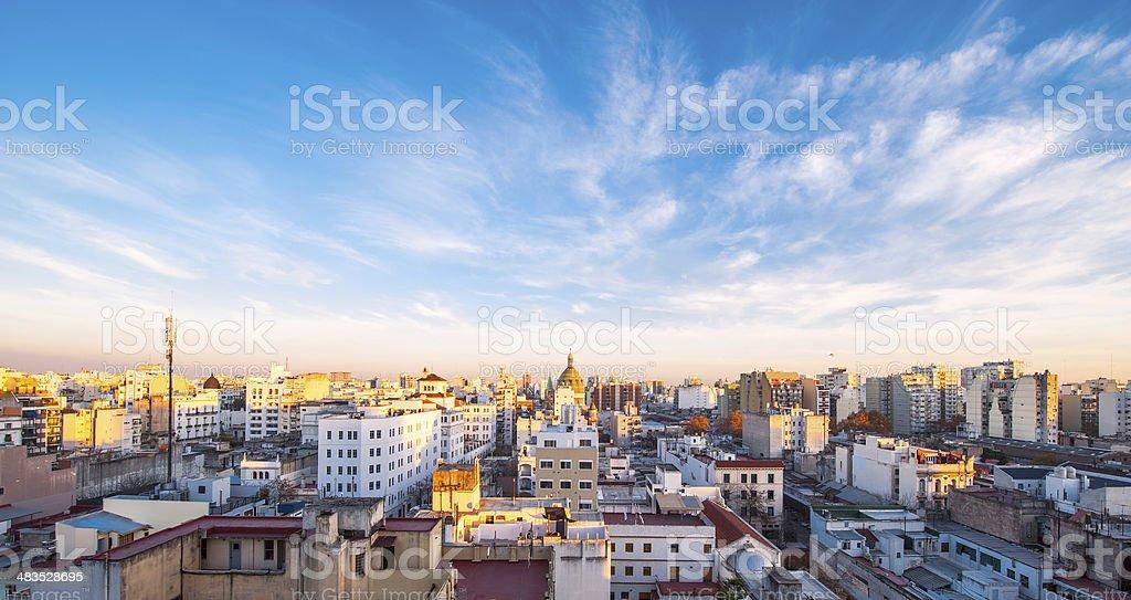 Frühen Morgen in Buenos Aires, Argentinien – Foto
