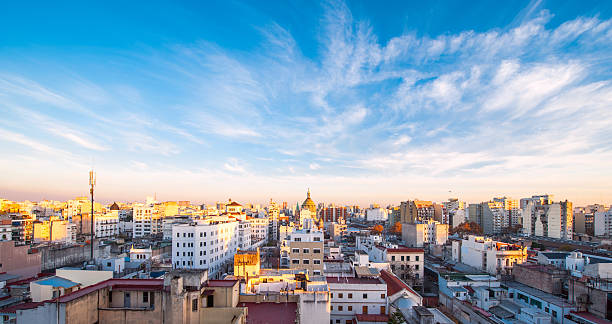 Early morning in Buenos Aires, Argentina Early morning in Buenos Aires, Argentina buenos aires stock pictures, royalty-free photos & images