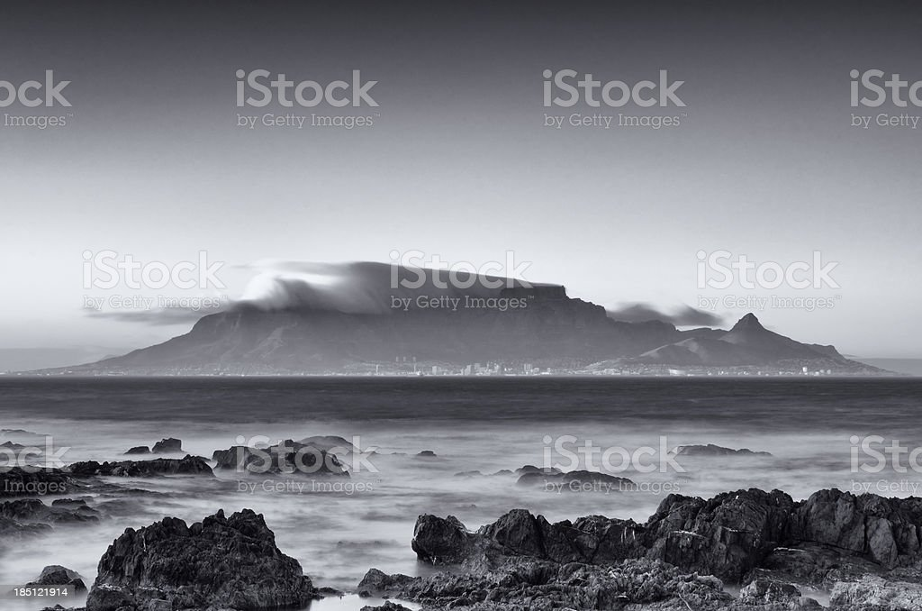 Early morning in Cape Town royalty-free stock photo