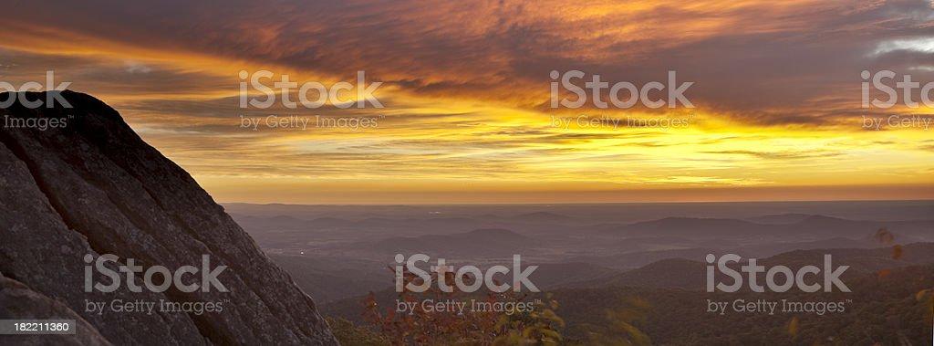 Early Morning in Shenandoah National Park. royalty-free stock photo