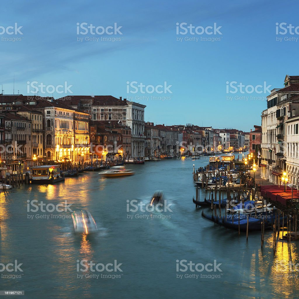 Early morning in Venice. royalty-free stock photo