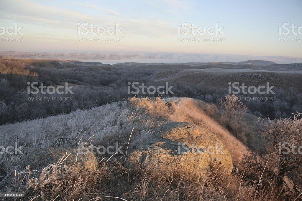 Early morning light royalty-free stock photo