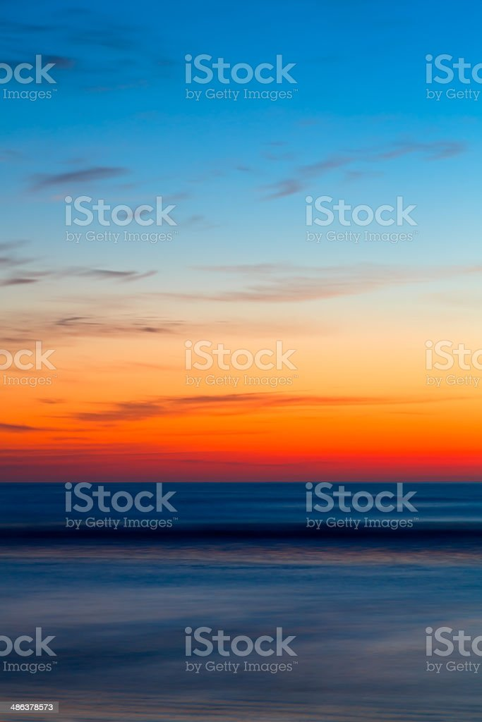 Early Morning Ocean stock photo
