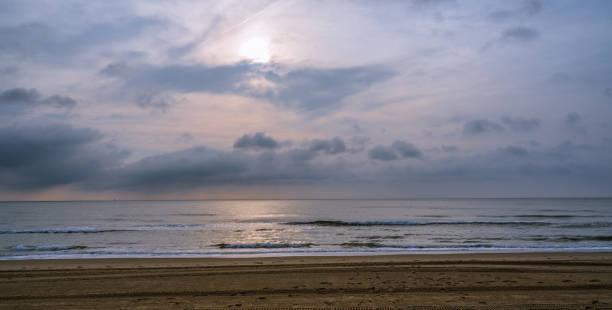 Frühmorgens am Virginia Beach – Foto