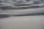 Large sandy and wavy dunes at south-beach of Gran Canaria but lookalike desert SaharaLarge sandy and wavy dunes at south-beach of Gran Canaria but lookalike desert Sahara