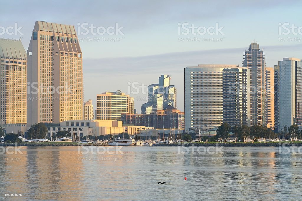 Early Morning San Diego royalty-free stock photo