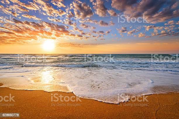 Photo of Early morning , sunrise over sea.