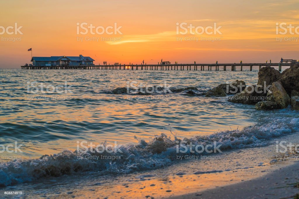 Early Morning Sunrise stock photo