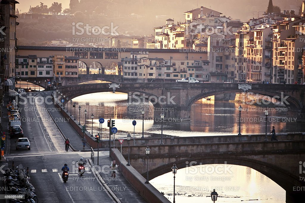Early Morning View of Florence, Italy royalty-free stock photo