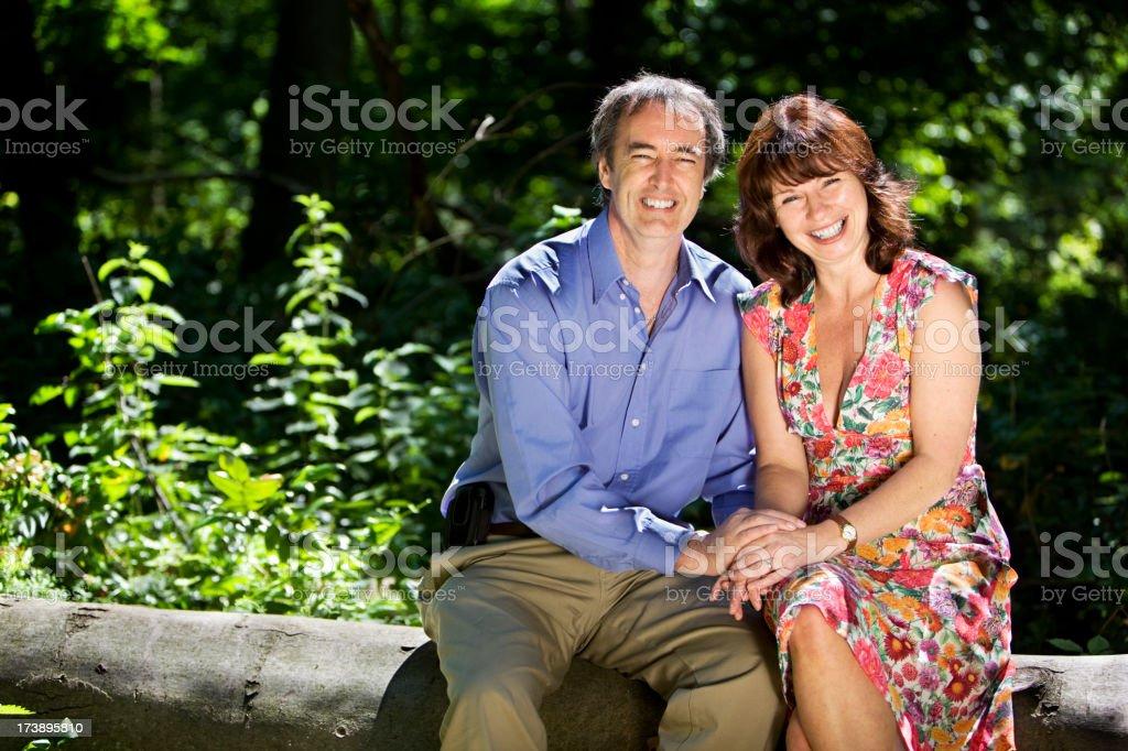 early retirement: enjoying life royalty-free stock photo