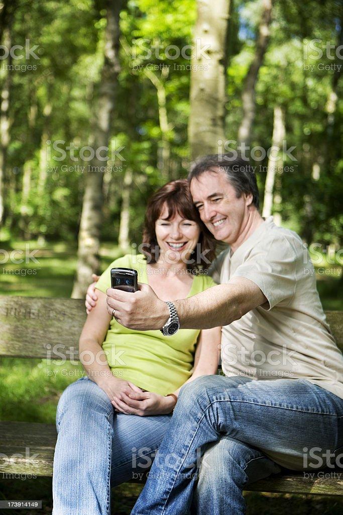 early retirement: personal snapshot stock photo