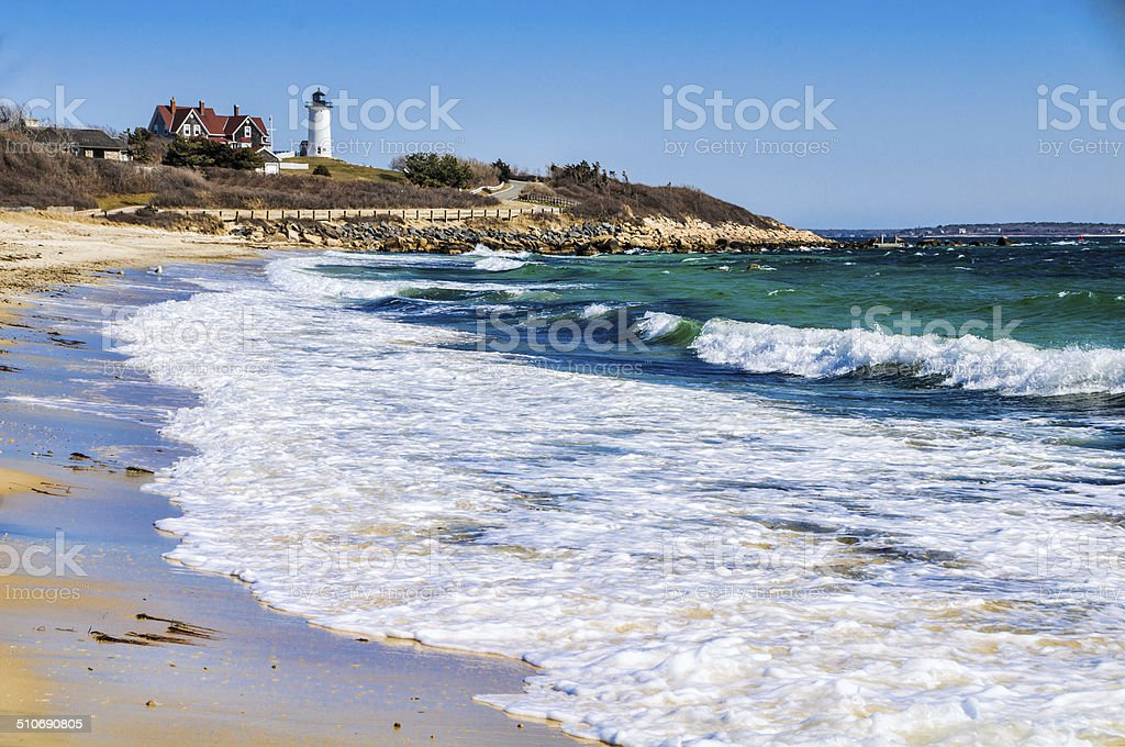 Early Spring at Nobsca Light stock photo