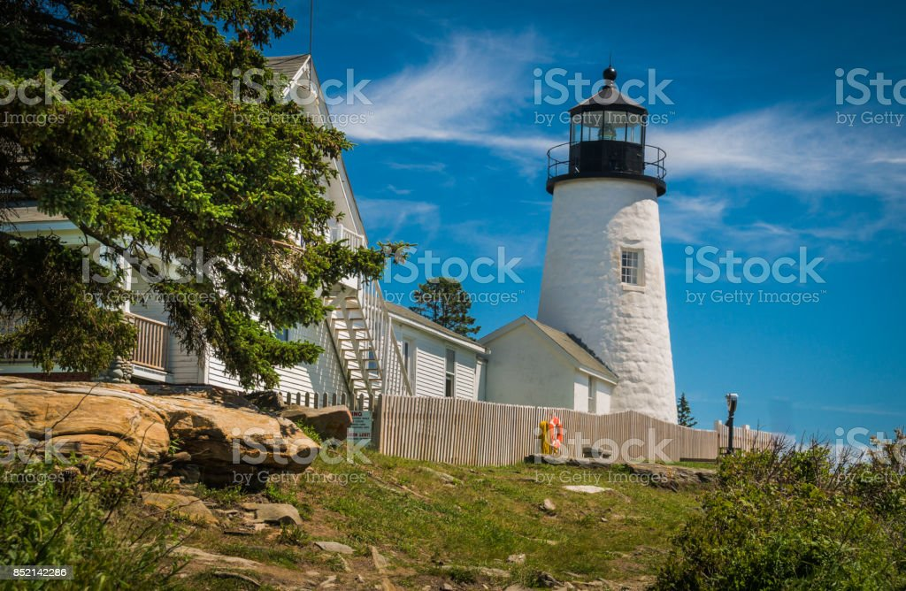 Early Summer at Pemaquid stock photo